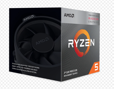 AMD Ryzen 5 3400G/ 3.7 GHz (Upto 4.2 GHz) / 6MB / 4 cores 8 threads / Socket AM4
