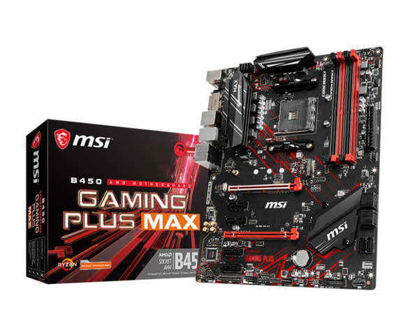 MSI B450 GAMMING PLUS MAX