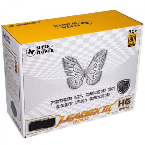 Nguồn Leadex III Gold 550W - 80 Gold Plus
