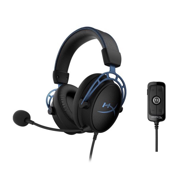 Tai nghe Kingston HyperX Cloud Alpha S 7.1 Blue