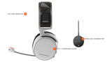 Tai nghe Steelseries Arctis 7 2019 White Wireless 7.1
