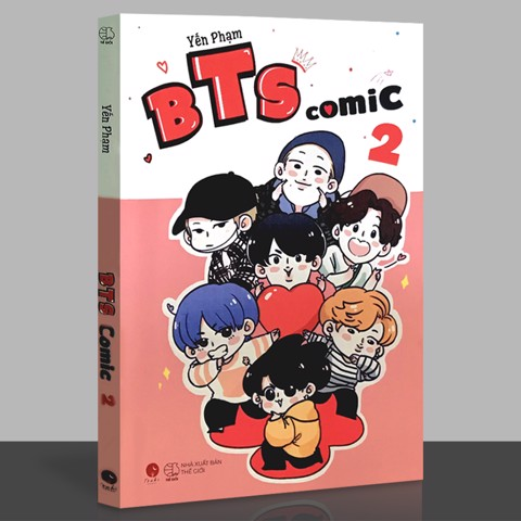 BTS Comic 2 (Kèm Bookmark, Sticker, postcard)