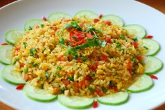 Cơm rang( Fried rice)