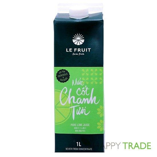 Nước cốt chanh tươi Le Fruit hộp 1L