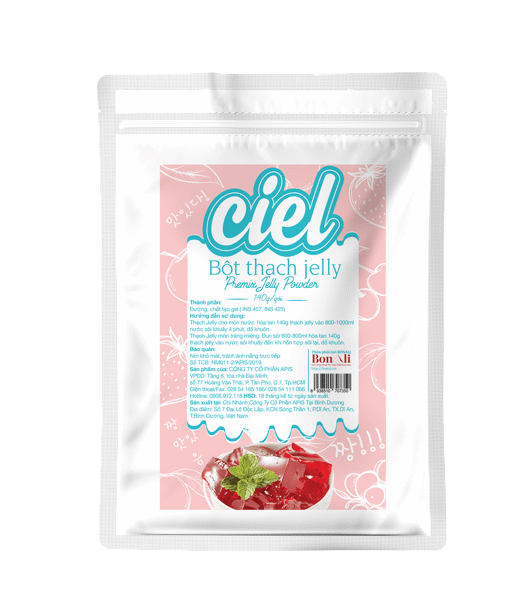 BỘT THẠCH JELLY CIEL