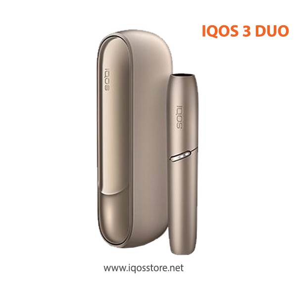 IQOS 3 DUO Brilliant Gold – Màu vàng Gold