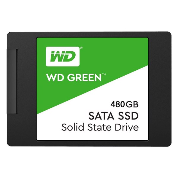 HDD SSD 480GB WD Blue/Green