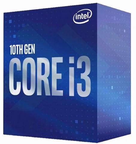 CPU INTEL CORE i3 10100 (3.6GHz turbo up to 4.4GHz, 4 nhân 8 luồng, 6MB Cache, 65W) 10TH