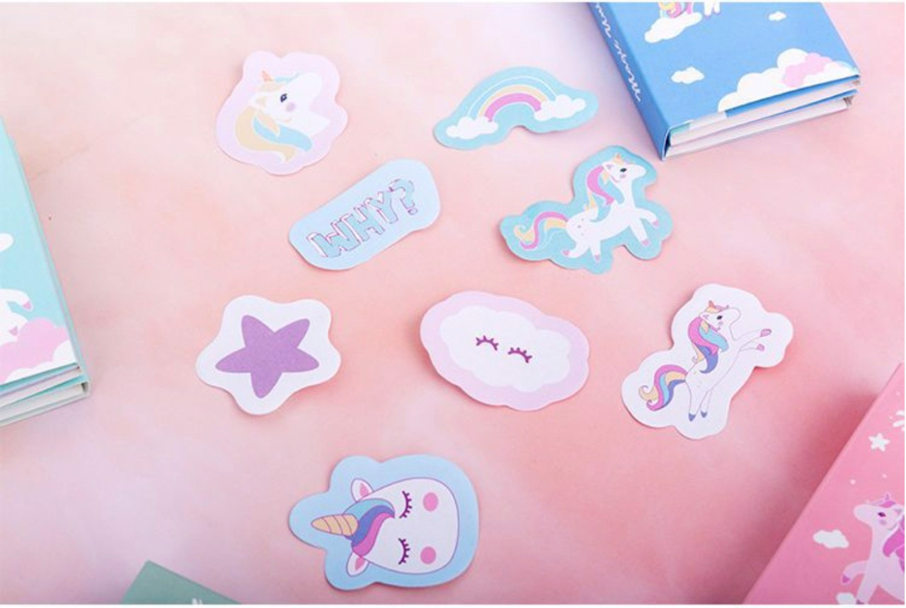 DREAMY UNICORN STICKY NOTE