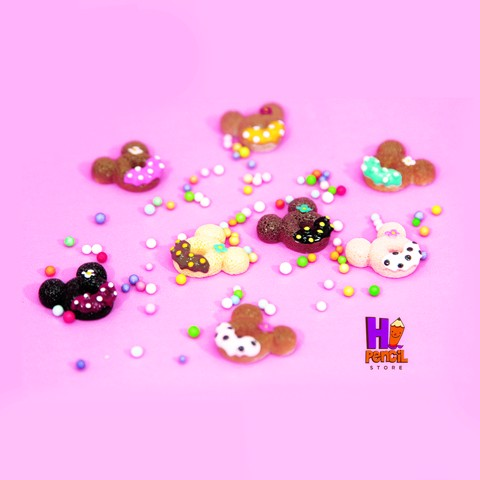 Charm donut  mickey mix