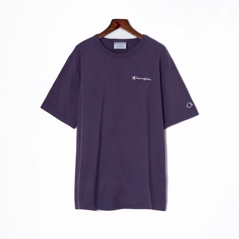 P100203 ÁO THUN CHAMPION GARMENT DYED 2020 MINI LOGO - GRAPE SODA