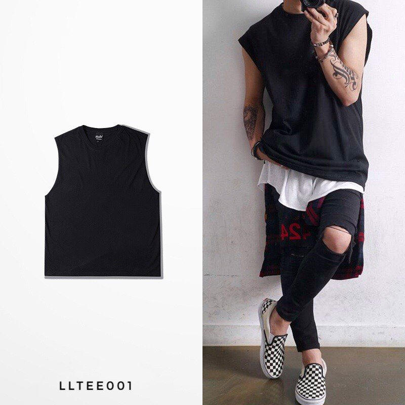 P100052 LAYLOW BASIC TANK TOP LLTEE01