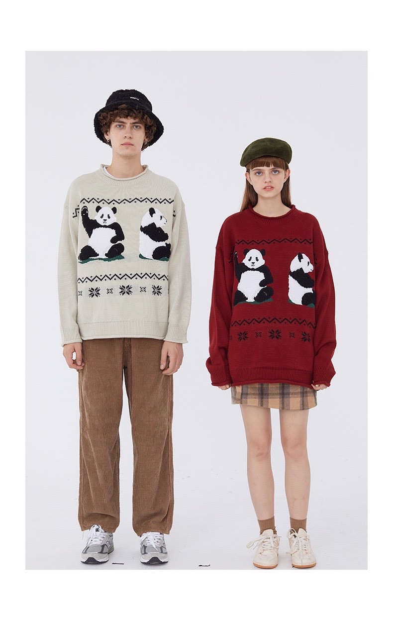ÁO LEN HEYHENRY AUTHENTIC VINTAGE PANDA KNIT SWEATER