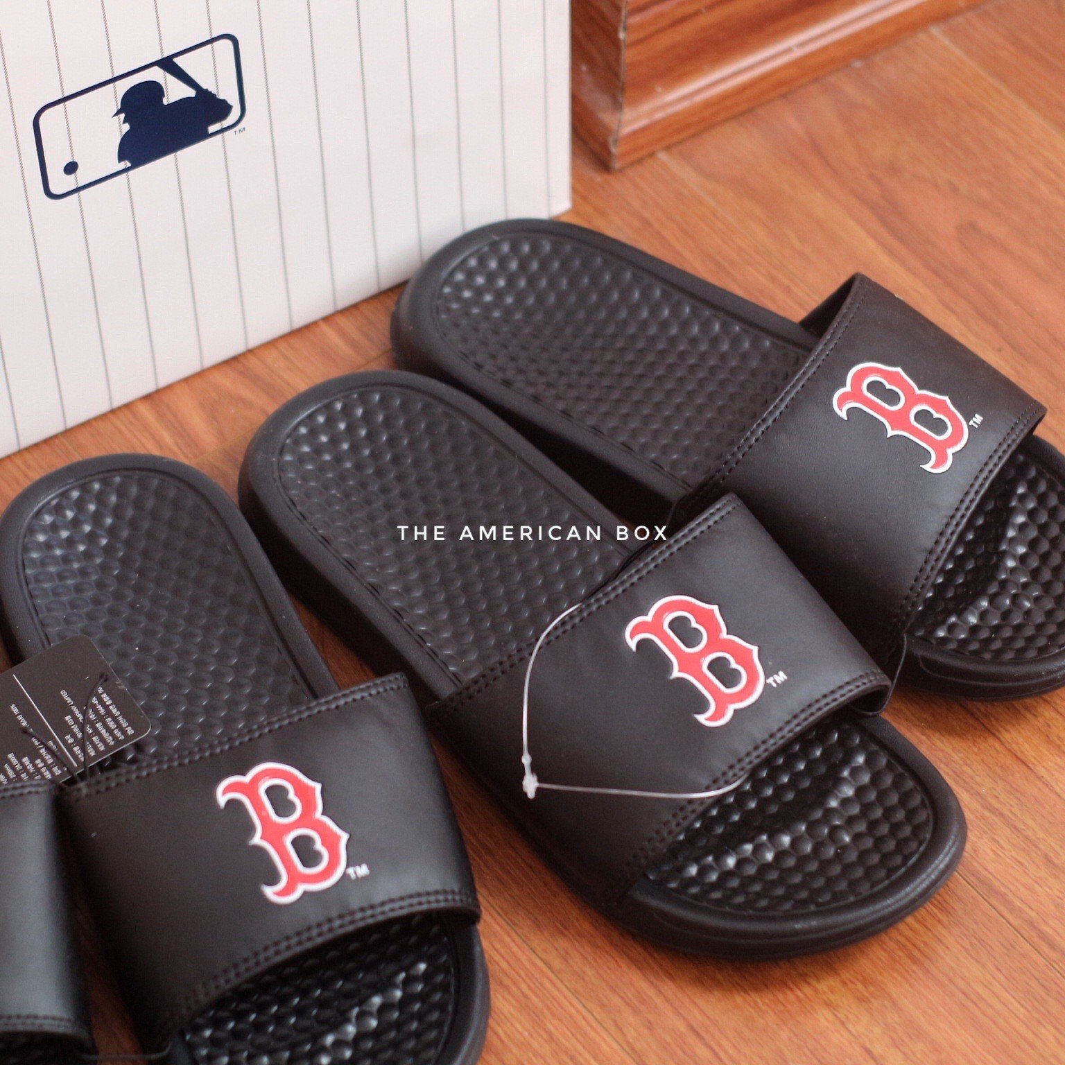 DÉP MLB NỘI ĐỊA HÀN AUTHENTIC - BLACK BOSTON