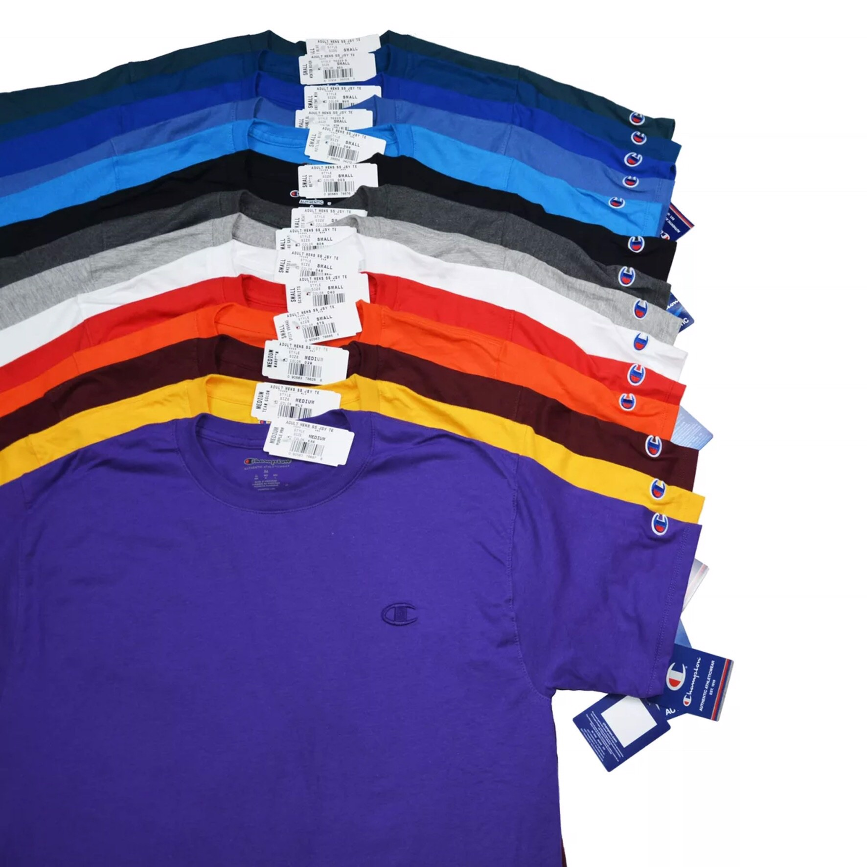 P100005 CHAMPION AUTHENTIC MENS JERSEY TEE