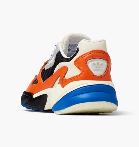 Adidas Originals W Falcon Cream White Core Black Orange