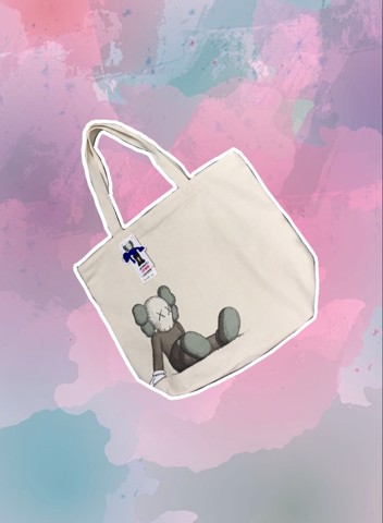 Kaws Tote Bag Single