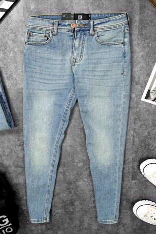 Quần Jean Light Mid Wash