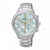 SEIKO Lukia Chronograph 34mm - Ladies Watch