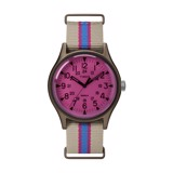 MK1 Aluminum California 40mm Fabric Strap Watch