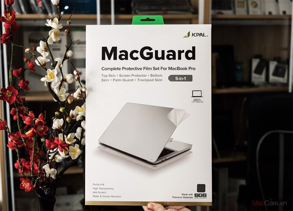 Bộ dán full MacBook 5 in 1 JCPAL MacGuard