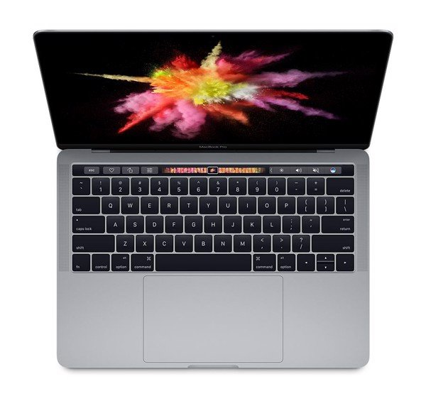MPXV2 - MacBook Pro 13-inch Touch Bar 2017 GRAY i7 3.1Ghz/16GB/256GB
