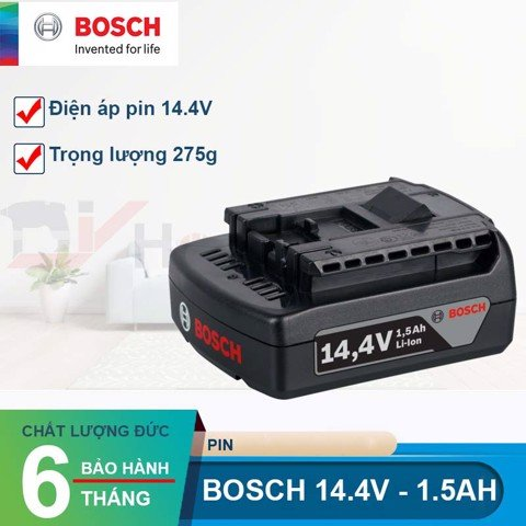 Pin Bosch Lion 14.4V-1.5Ah