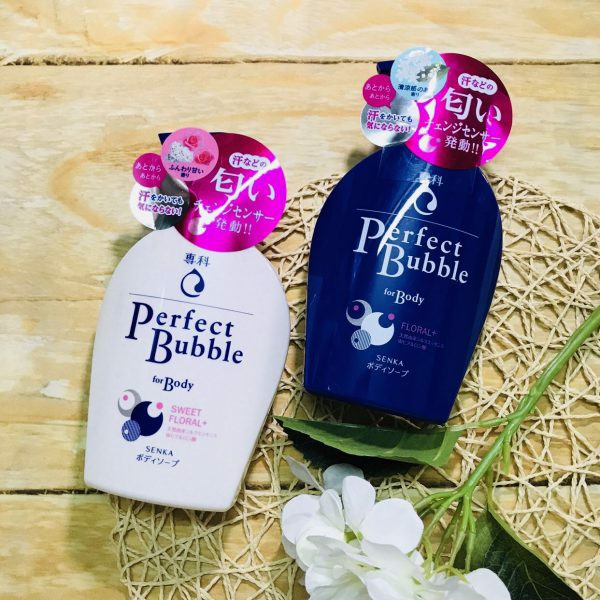 SỮA TẮM PERFECT BUBBLE FOR BODY FLORAL 500ml – aLabi.vn