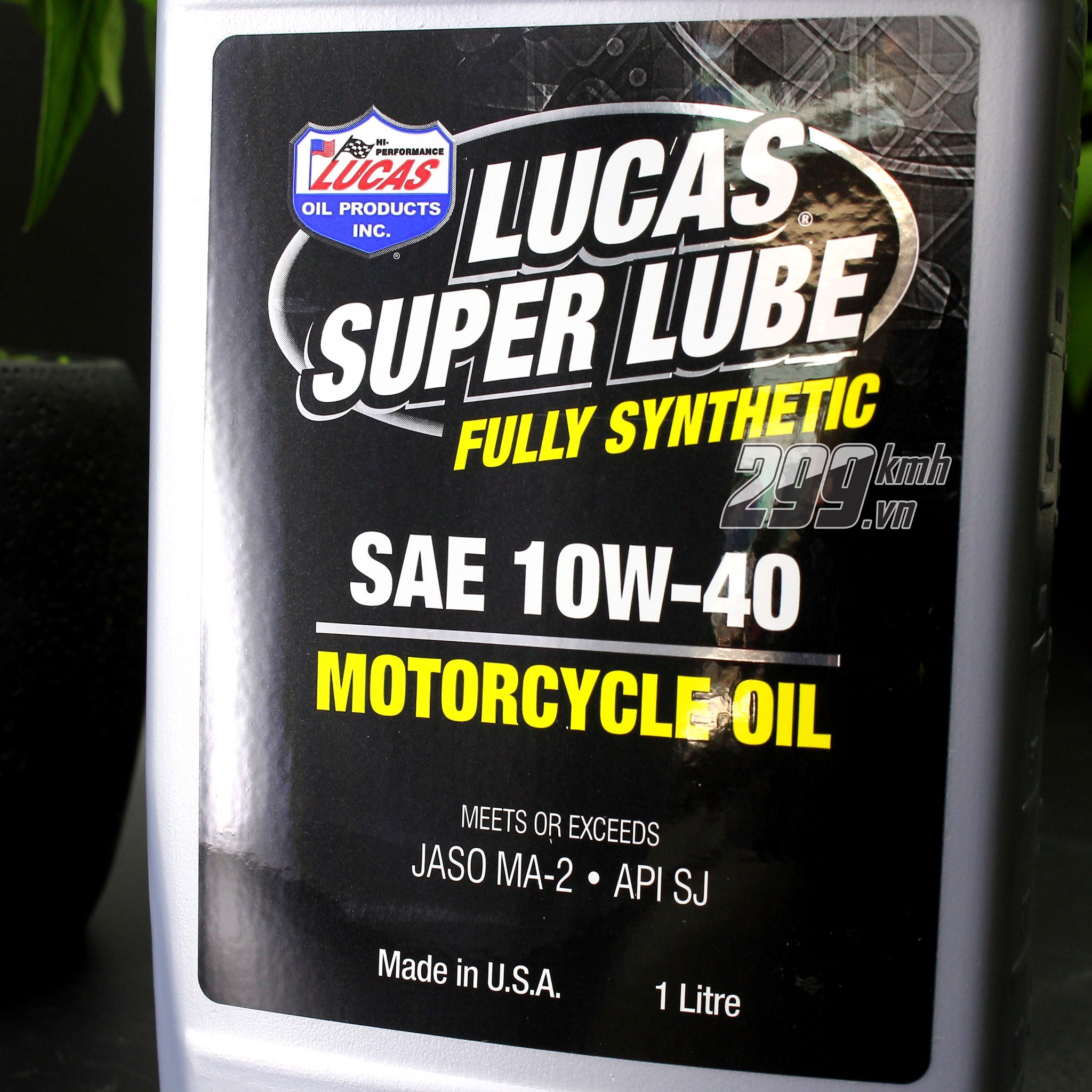 Nhớt Lucas Super Lube 10W40 - 100% Synthetic