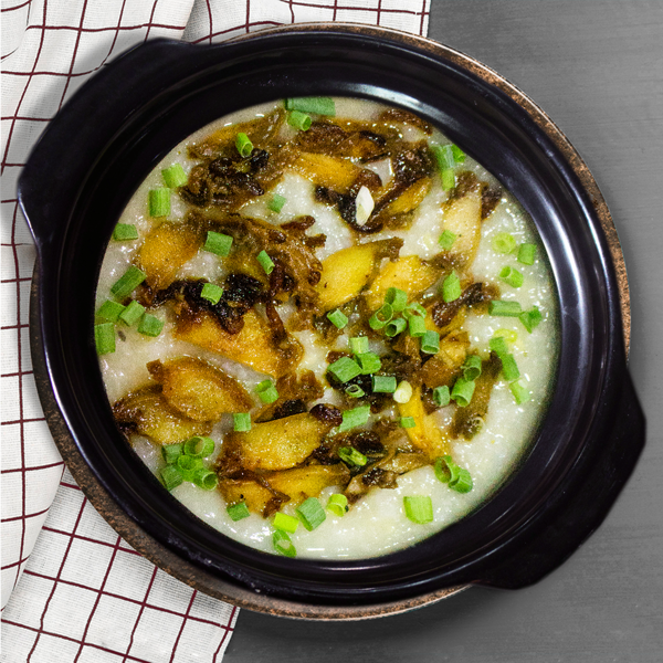 CHÁO BÀO NGƯ (Rice Porridge With Abalone)