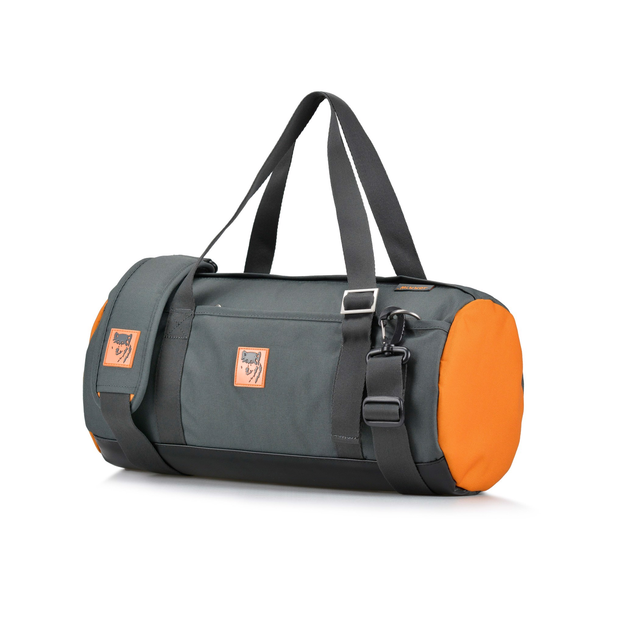 The Sporty Gymer -Charcoal/ Orange