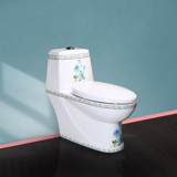 1003 - One piece toilet Flower HC-06