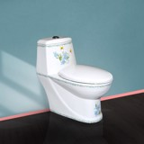 1003 - One piece toilet Flower HC-021