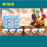 set of 6 pcs rice bowl