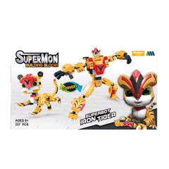Supermon Iron Tiger: Ghép hình block