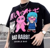 Áo thun over 3 con BAD RABBIT double bad