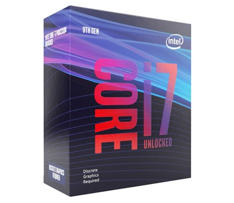 CPU Intel Core i7-9700F (3.0GHz turbo up to 4.7Ghz, 8 nhân 8 luồng, 12MB Cache, 65W) - Socket Intel LGA 1151-v2