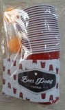 Beer pong kit 22 pack Red Solo
