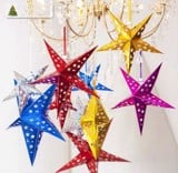 Star paper lantern medium 50cm
