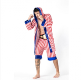 Trang phục boxing cho nam - Men Cosplay Boxing Long Sleeve Costume