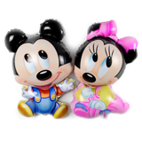 Baby Mickey/ Minnie foil balloon