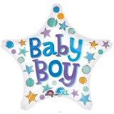 Baby Boy star balloon