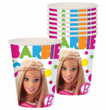 Barbie paper cups 8/pack