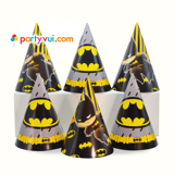 Batman Paper hat 6/pack