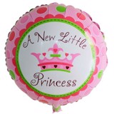 Princess foil balloon