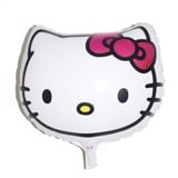 Bong bóng hình mặt kitty - Hello kitty face foil balloon