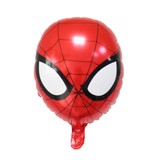 Spiderman face foil balloon