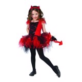 Devil Tutu costume for Girls