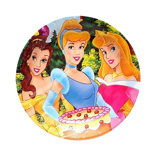 Disney Princesses paper plates 7