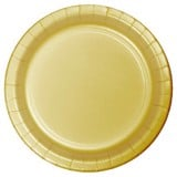 Gold paper plates 7